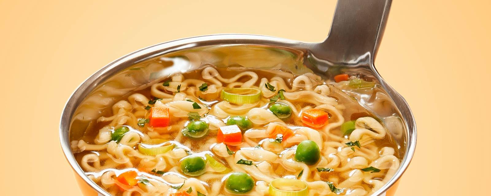 alimentos saludables o no sopa