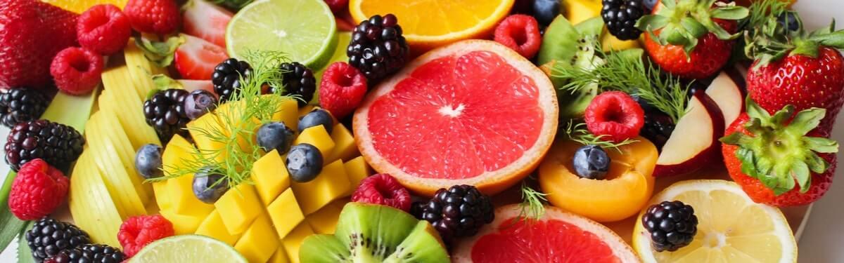 fruta para comer en la noche
